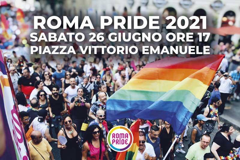 RomaPride2021 - Comunicato - Roma Pride 2021