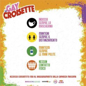 Roma Pride 2021 - GayCroisette - Regolamento