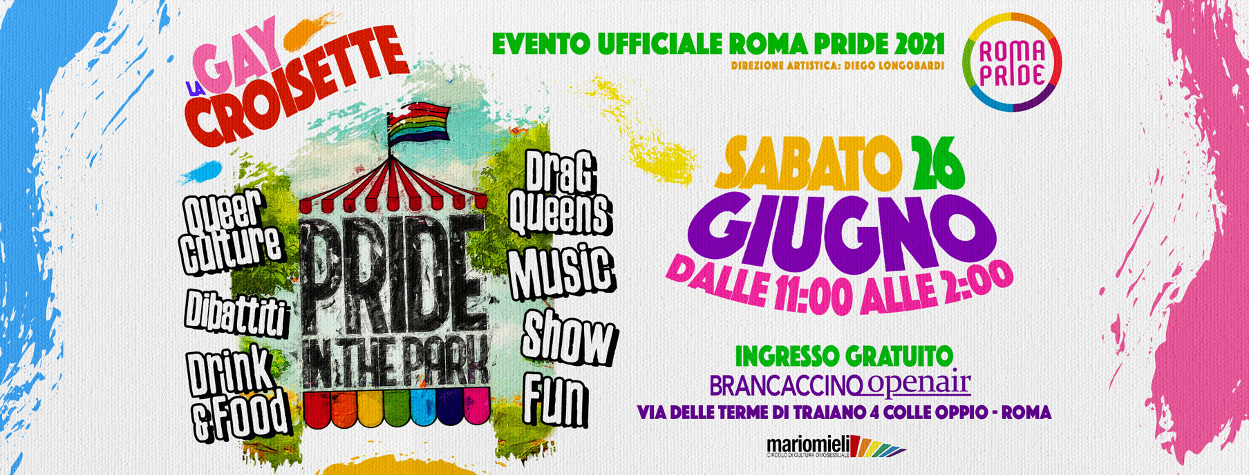 Roma Pride 2021 - Pride in the Park