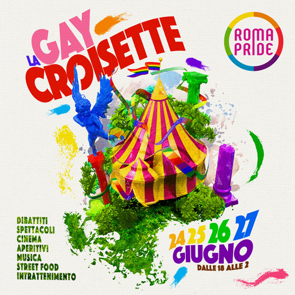Roma Pride 2021 - Gay Croisette