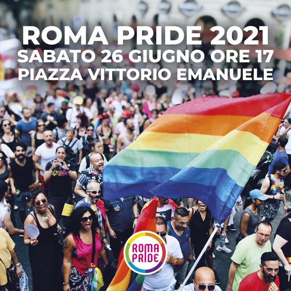 Roma Pride 2021 - Appuntamento