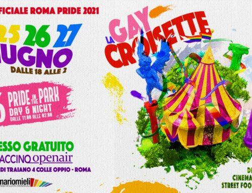 Sabato 26 giugno 2021 alle 17:00 torna il Roma Pride